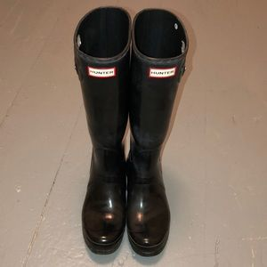 Hunter Shoes - Hunter Women's Original Tall Gloss Rain Boots